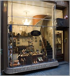G.J.CLEVERLEY SHOES – bespoke and ready to wear shoes, beautifully crafted from beautiful leathers. Hugely popular with our customers and staff alike.