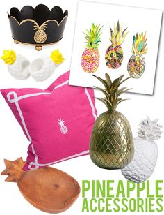 the HUNTED INTERIOR: Aloha! Pineapple Decor