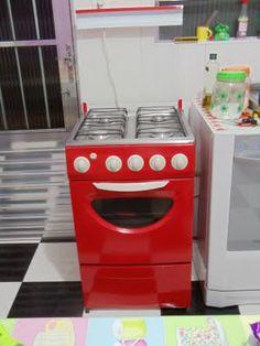 ...Aos poucos, um lar!: Faça você mesmo - Pintar o fogão