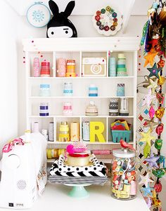 Small Organized closet & cubby space | Flickr - Photo Sharing!