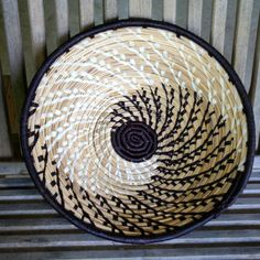 Handmade basket that supports the women in Uganda who created them & supports child advocacy too.  $30 each