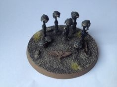 Grave, Guard Abuse, Imperial Guard, Objective Marker, Warhammer 40,000