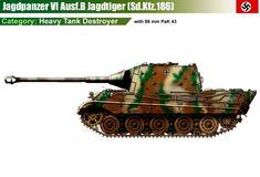 Jagdpanzer VI Ausf.B mit 88mm Pak 43/3