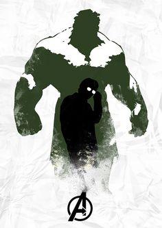 Hulk by Owen Seago, via #Flickr #design #poster