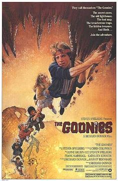 80s movie posters | The Goonies