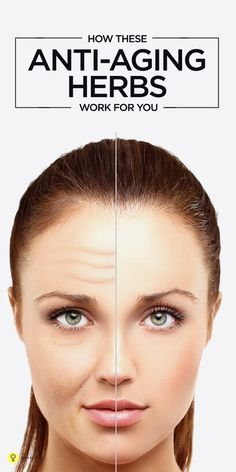 Did you ever find yourself confused with the oodles of anti aging products in the market? Check out these best anti aging herbs that help you ... #antiaging