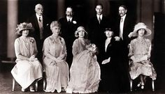 This 1926 royal family portrait was taken on the day Princess Elizabeth Alexandra Mary, now Queen Elizabeth II, was christened at Buckingham...