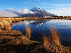 Mt Taranaki is the high point of the Pouakai Crossing, one of New Zealand's best short hikes © Spencer Clubb / Getty Images