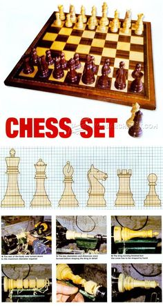 Woodturning Chess - Woodturning Projects and Techniques | WoodArchivist.com