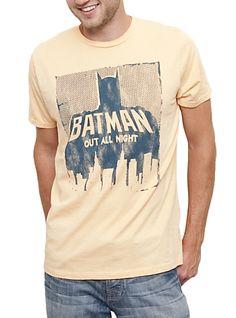 Batman Vintage Inspired Solid tees shirts