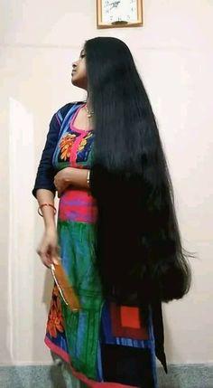 Long Haircuts, Long Bob Hairstyles, Indian Hairstyles, Indian Hair Cuts, Indian Long Hair Braid, Really Long Hair, Super Long Hair, Long Dark Hair, Thick Hair