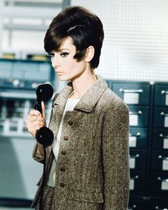 "Audrey Hepburn: ""Audrey in an unpublished scene from How To Steal a Million, 1966 
