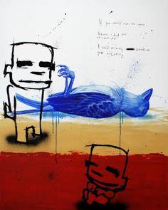 "Saatchi Art Artist Jan-Hein Arens; Painting, ""Authority"" #art"