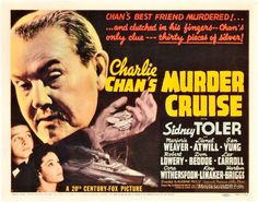 A blueprint for murder lobby card tcf movie lobby title cards charlie chans murder cruise malvernweather Gallery