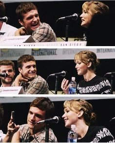 loved to see some new joshifer photos from comic-con and another selfie angle! love it! #joshiferfeels i really hope they would date each other someday #wishfulthinking