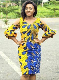 Ankara Short Gown Styles Flirty Ideas For Your Hot Look! African Fashion Ankara, African Inspired Fashion, Latest African Fashion Dresses, African Print Dresses, African Print Fashion, Africa Fashion, African Wear, African Attire, African Dress