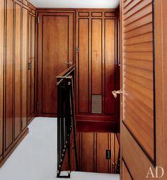 maison jansen, northwindii yacht -hallway