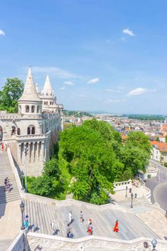 Budapest itinerary 4 days - Fishermen's Bastion