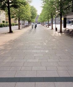 VIA ROMANA® - Pavés et dalles béton poli - Voirie Urbaine - Quartzo Design - urban design