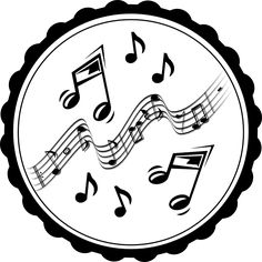 Image Result For Template Of Music Note  Projects To Try