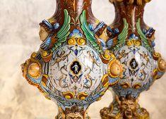 Coppia di vasi – Ginori - fine '800