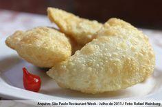 Consulado da Bahia (almoço)    Pastel de camarão 03 uni