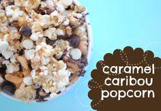Caramel Caribou Popcorn (Moose Munch)