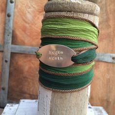 Inspirational jewelry   Begin Again   Elizabeth Lyons Designs Smile Design, Begin Again, Bespoke Jewellery, Bangles, Bracelets, Artisan, Inspirational Jewelry, Life, Products