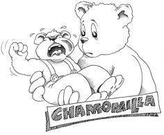Chamomilla http://www.owenhomoeopathics.com.au/articles.php