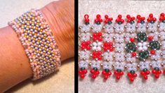 Beading4perfectionists : Pondo stich bracelet: Good for Beginners  ~ Seed Bead Tutorials