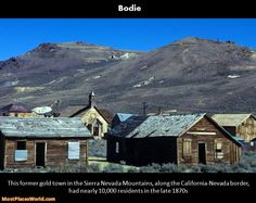 Bodie california abandoned ghost town in california