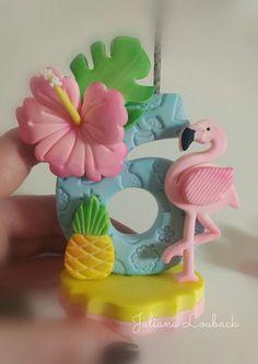 Flamingo Candle (for birthday cake) Flamingo Party, Flamingo Cupcakes, Flamingo Birthday, Luau Birthday, Birthday Parties, Themed Parties, Birthday Nails, Birthday Cake, Birthday Party Decorations