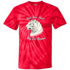 You'll be cat-like when you sport this Show Your Heart Z... Please share it! http://catrescue.myshopify.com/products/cd100y-youth-tie-dye-t-shirt-42?utm_campaign=social_autopilot&utm_source=pin&utm_medium=pin