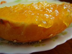 Marmelada de portocale Cantaloupe, Jelly, Fruit, Desserts, Recipes, Food, Meal, Marmalade, The Fruit