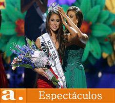 Una latina gana la corona de Miss USA