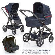 Abc Design Kombi Kinderwagen Condor 4 Komplett Set Mit Xxl