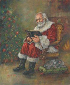 Portrait Artist Gaye Willard Santa Paintings Page