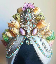 Pretty Colours Large Mermaid Crown