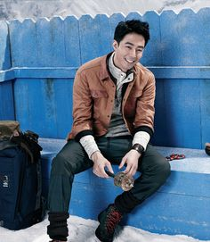 JO IN SUNG HIMALAYAN EXPEDITION FOR BLACKYAK'S F/W 2013 CAMPAIGN