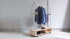 How to Create a Garment Rack