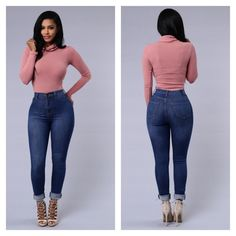 Fashion Nova high waisted jeans High Waisted Great Stretch Faux Front Pocket 2 Back Pockets Skinny Fit  fits true size  77% Cotton 17% Polyester 2% Spandex.                 NO TRADES No PPPRICE IS FIRM Fashion Nova Jeans Skinny