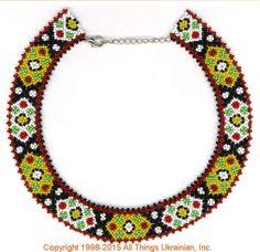 AllThingsUkrainian.com gherdany Bead Jewelry  # GIN15136