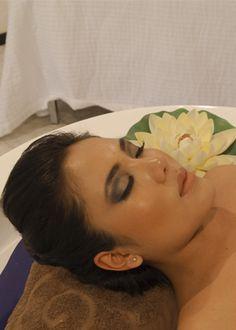 Hidroterapia Baño Aromaticos en Tina Baño en Leche Baño Posparto