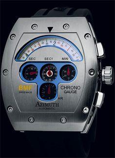 Azimuth Chrono Guage BMF Steel Automatic