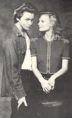 River Phoenix and Martha Plimpton.