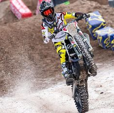 Jason Anderson - Supercross 2018 - Las Vegas - Sam Boy Stadium - Sx - dirtbike Motocross Photography, Bike Freestyle, Honda Powersports, Enduro Motocross, Dirtbikes, Motorcycle, Quad, Chile, Las Vegas