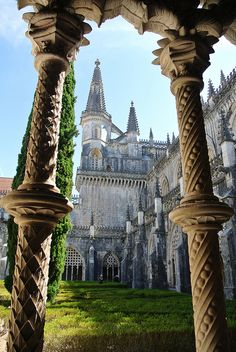 Batalha Monastery, Portugal - one of the most incredible places I've ever been