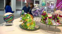"""A company in Washington state will take the ashes of loved ones and create art. (""""Artful Ashes"""")"""