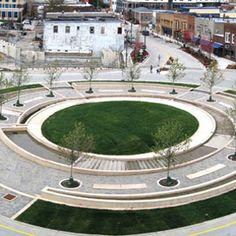 Uptown Normal, Illinois, Hoerr Schaudt Landscape Architects