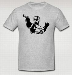 Robocop T-shirt | Blasted Rat
